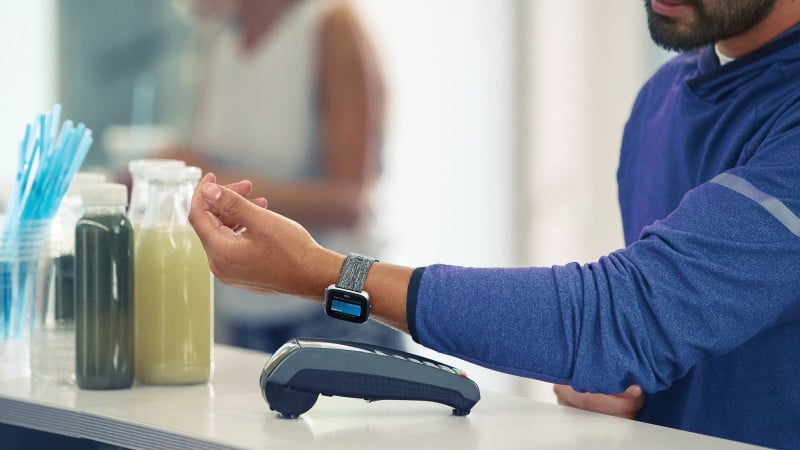 Fitbit Pay contactloos betalen