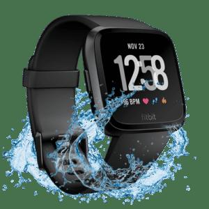 Fitbit Versa Smartwatch - Waterdicht - Zwart - 2018