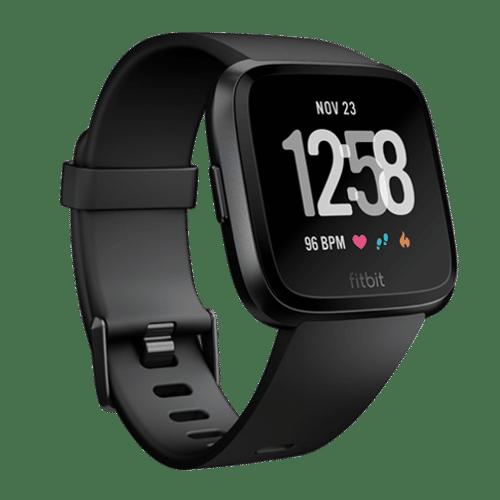 Fitbit Versa Smartwatch - 2018 - Zwart