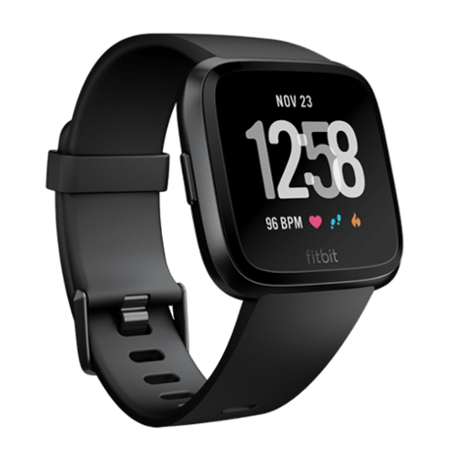 Fitbit Versa - Smartwatch - 2018 - Zwart