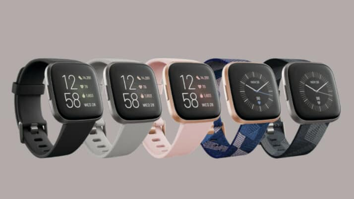 Fitbit Versa 2 smartwatch - 2019 - Alle Fitbit 2 modellen