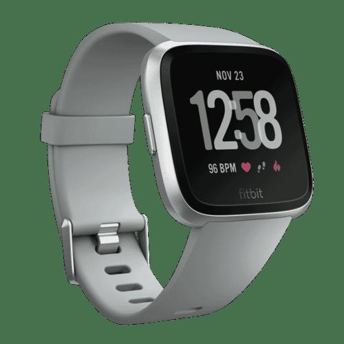 Fitbit Versa Smartwatch - 2018 - Zilver Grijs