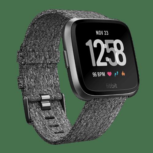 Fitbit Versa Smartwatch - Donker Grijs - Special Edition - Kopen via Bol.com