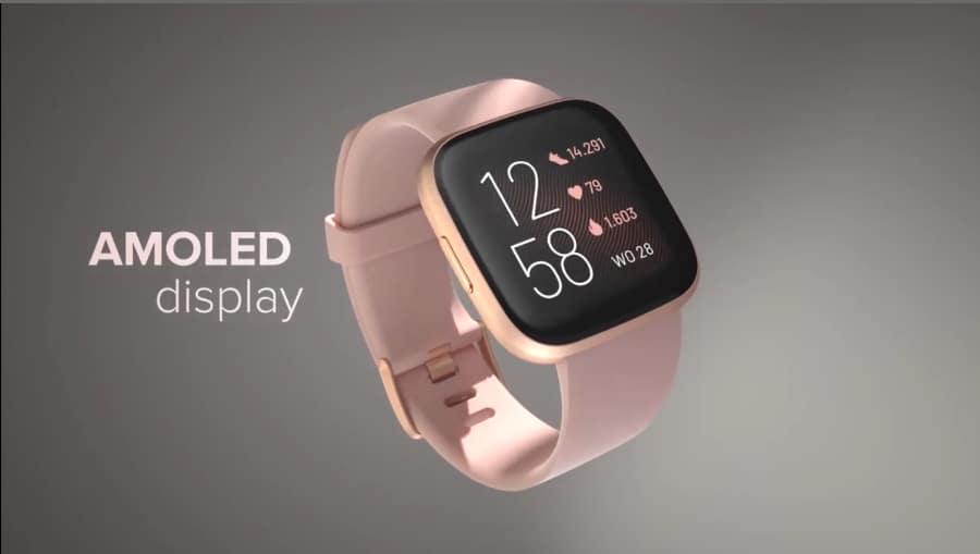 Nieuwe Fitbit Versa 2 Smartwatch (2019) Fitbit nieuwste Smartwatch - AMOLED Display