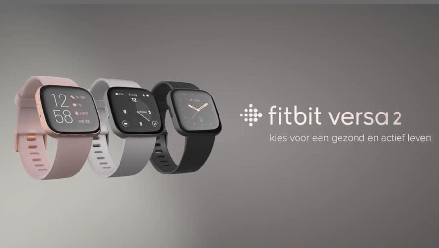 Nieuwe Fitbit Versa 2 Smartwatch (2019) Fitbit nieuwste Smartwatch - Gezond leven