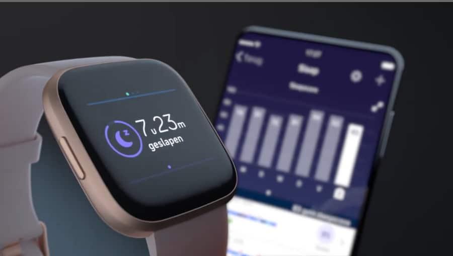 Nieuwe Fitbit Versa 2 Smartwatch (2019) Fitbit nieuwste Smartwatch - Smart Wake