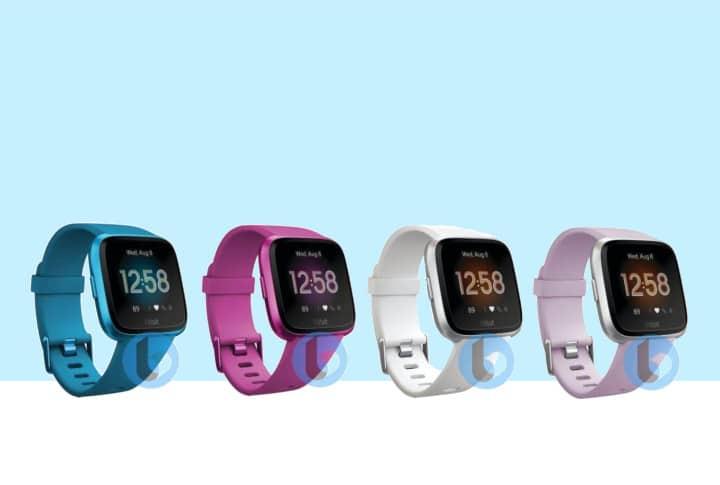 De nieuwe Fitbit Versa 2 (2019) smartwatch uitgelekte foto