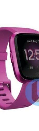 Nieuwe (2019) Fitbit Versa 2 – Paars