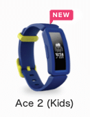 Fitbit Ace 2 - Fitnesstracker Kinderen - 2019