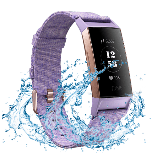 Fitbit Charge 3 - Activity tracker - Waterdicht - 2018 - Rose Gold / Lavendel