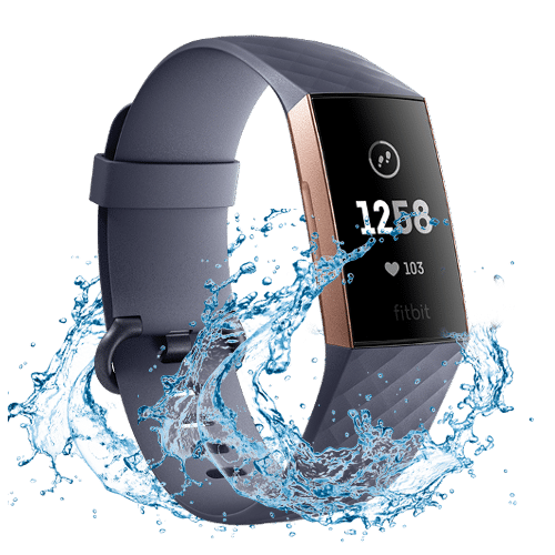 Fitbit Charge 3 - Activity tracker - Waterdicht - 2018 - Rose Gold / Blue