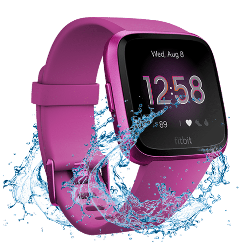 Fitbit Versa Lite - 2019 - Smartwatch - Magenta