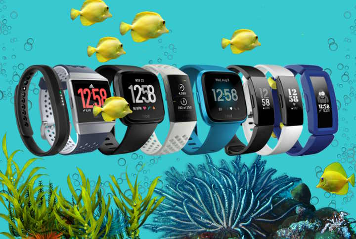 Fitbit Waterdichte Activity Trackers 2019