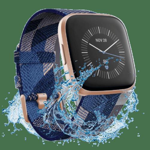 Fitbit Versa 2- 2019 - Smartwatch - Koper Roze