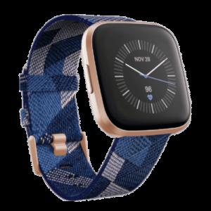 Fitbit Versa 2 - Smartwatch - Special Edition - Koper Blauw - 2019