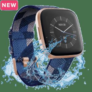 Fitbit Versa 2 Smartwatch - 2019 - Koper Blauw