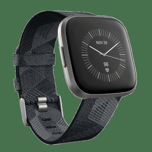 Fitbit Versa 2 Smartwatch - 2019 -Gewoven Grijs