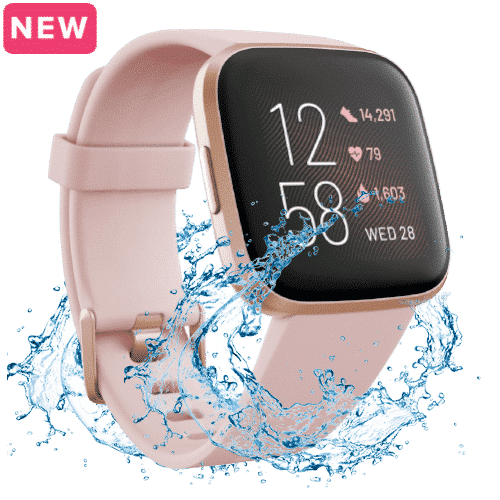 Fitbit Versa 2 Kopen - Smartwatch - 2019 - Roze Koper