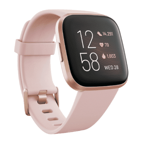 Fitbit Versa 2 - Smartwatch - Koper Roze - 2019