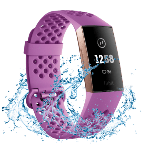Fitbit Charge 3 - Actvity Tracker - 2018 - Rose Goud - Paars