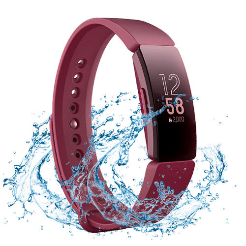 Fitbit Inspire HR- Activity Tracker- Rood
