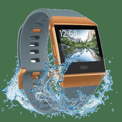 Fitbit Ionic - Smartwatch - Blauw Oranje