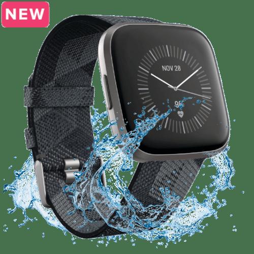 Fitbit Versa 2 Kopen - Smartwatch - Special Edition - 2019 - Gewoven Grijs