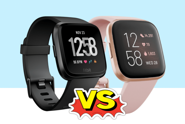 Verschil tussen Fitbit Versa en Versa 2