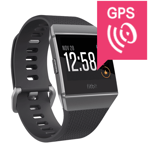 Fitbit Ionic - 2018 - Smartwatch - GPS