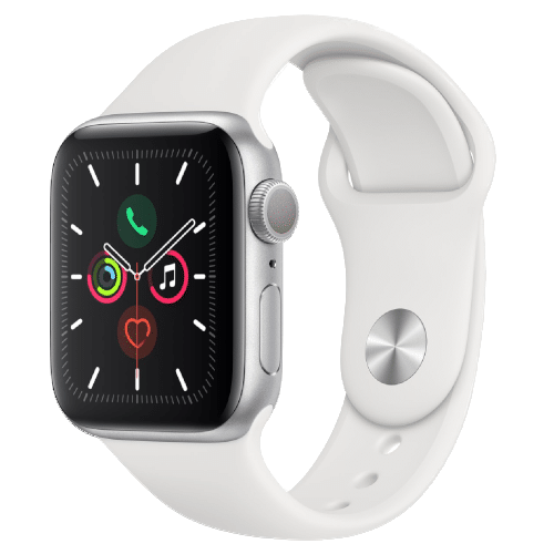 Apple Watch 5 - Zilver Wit