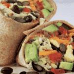 Eiwitrijke Recept: Burrito met eieren, bonen, kaas, avocado en salsa