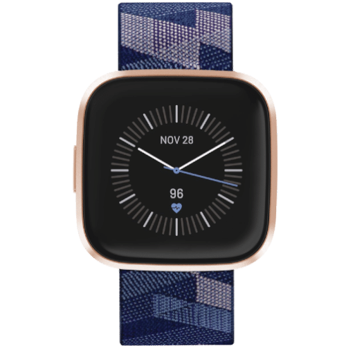 Fitbit Versa 2 Smartwatch - Special Edition - 2019 - Koper Blauw