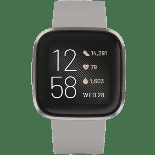 Fitbit Versa 2 Smartwatch Kopen - Steengrijs