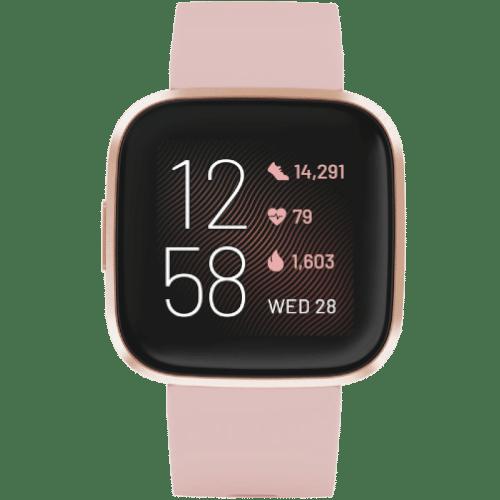 Fitbit Versa 2 Smartwatch Kopen - 2019 - Koper Roze