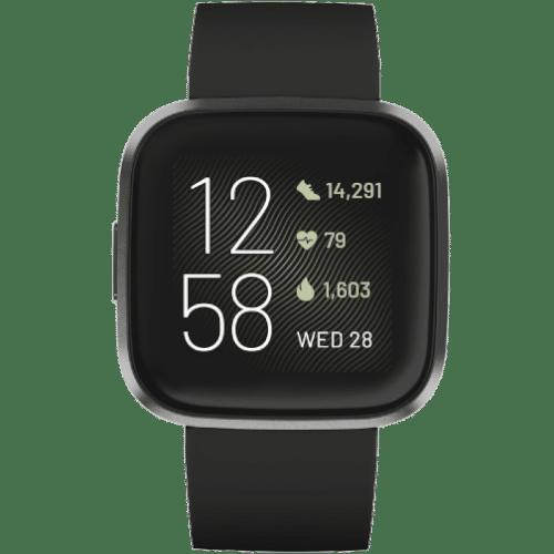 Fitbit Versa 2 Smartwatch Kopen - 2019 - Zwart