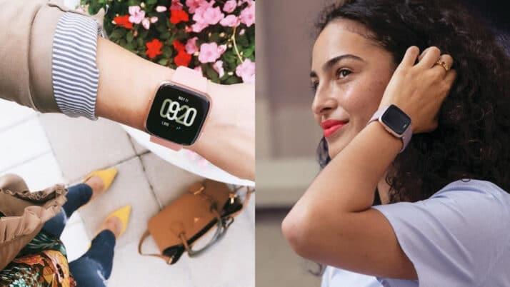 Fitbit Versa Lite - OLED display