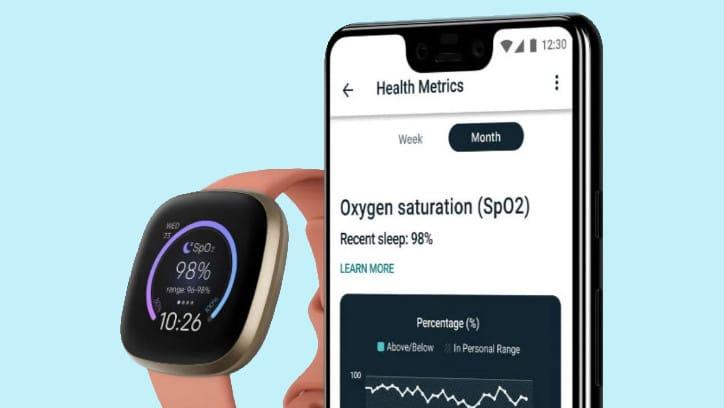 Fitbit SpO2 meting - zuurstofgehalte in je bloed