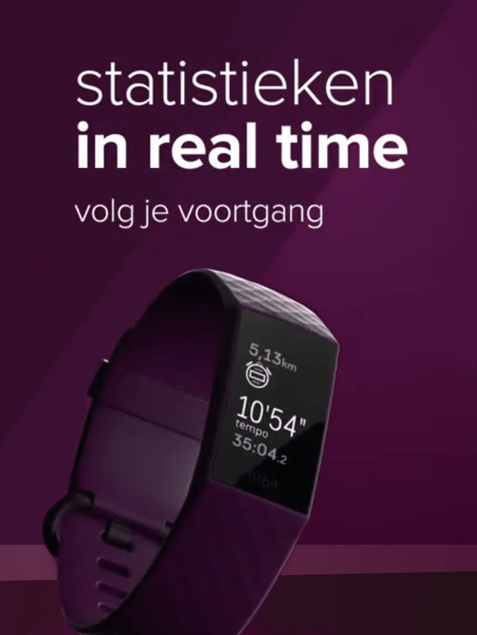 Fitbit Charge 4 - Activity tracker - 2020 - Statistieken in realtime door ingebouwde GPS