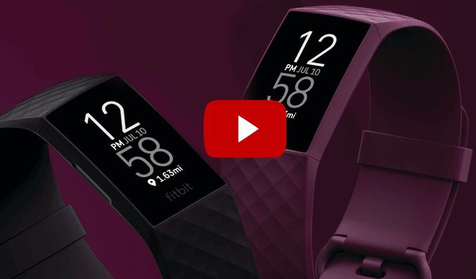 Fitbit Charge 4 Activity tracker - 2020 - Met ingebouwde GPS tracker