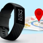 Fitbit Charge 4 met ingebouwde GPS tracking