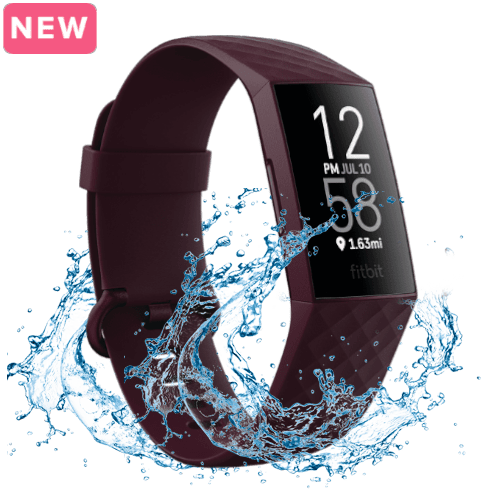 Fitbit Charge 4 - Activity tracker - Paars - 2020 - Waterdicht