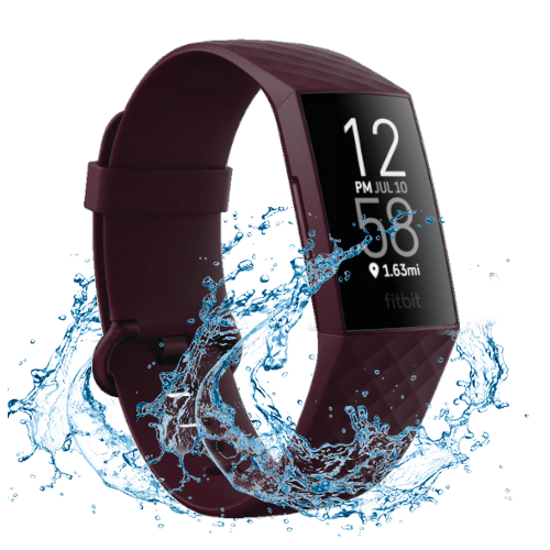 Fitbit Charge 4- 2020 - Activity tracker - Paars