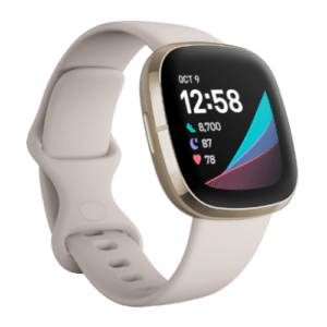 Fitbit Sense - Smartwatch - 2020 - Wit/Goud