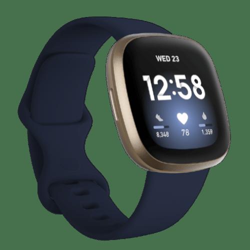 Fitbit Versa 3 - Smartwatch - 2020 - Blauw