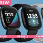 Nieuwe Fitbit Versa 3, Fitbit Sense en Fitbit Inspire 2 Foto's zijn gelekt!