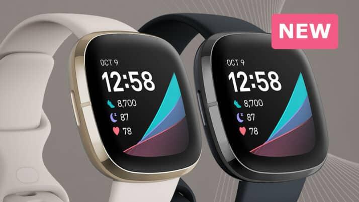 Fitbit Sense (2020) geavanceerde gezondheids- en fitness-smartwatch