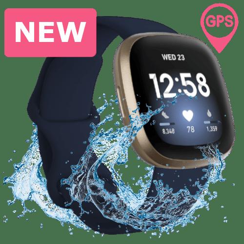 Fitbit Versa 3 Smartwatch - 2020 - Goudkleurig