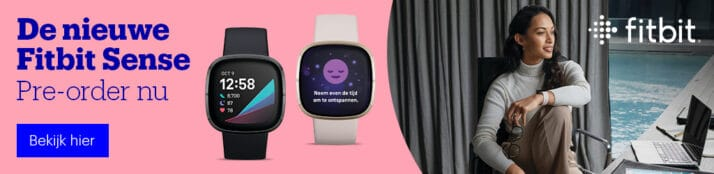 De nieuwe Fitbit Sense - Smartwatch - 2020