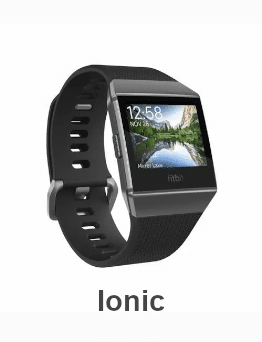 Fitbit Ionic - 2017 - Smartwatch