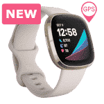 Fitbit Sense - Smartwatch - 2020 - Wit